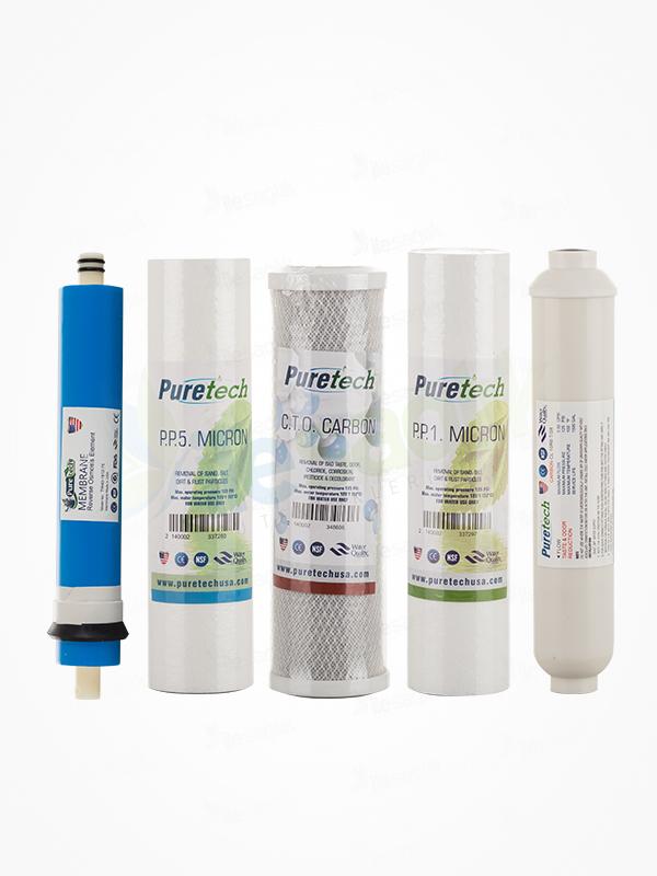 Puretech 5 Aşamalı Filtre Seti